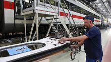 Der Dreck muss weg: Frühjahrsputz-Kur für alle ICE-Züge