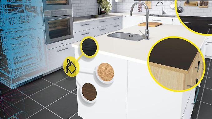 vr app f r htc vive ikea k chen erobern virtuelle realit t n. Black Bedroom Furniture Sets. Home Design Ideas