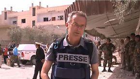 Dirk Emmerich in Al-Karjatain: Christen berichten von Grausamkeiten des vertriebenen IS