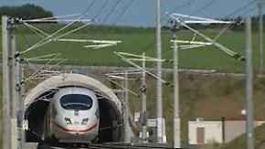 Bald auch durch den Eurotunnel?: ICE absolviert Sicherheitstests