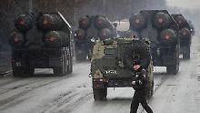 Flugabwehrsystem für den Iran: Russland liefert S-300 aus