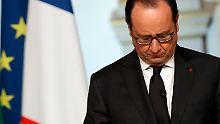 Viel angekündigt, nur sehr wenig erreicht: François Hollande.