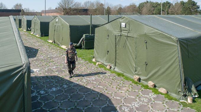 Die Logistikschule der Bundeswehr in Garlstedt.