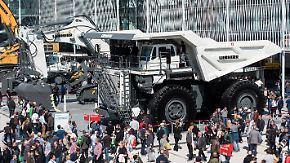 Weltgrößte Baumesse in München: Bauma begeistert Fans großer Maschinen