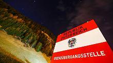 Kritik erwartet: Österreich richtet Brenner-Kontrollen ein