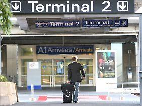 Am Flughafen in Nizza ging nichts mehr.