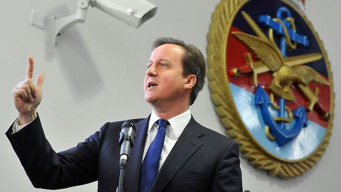 Premierminister James Cameron.