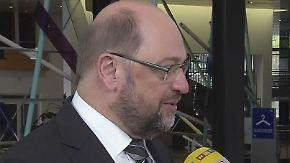 """Martin Schulz über Hans-Dietrich Genscher: """"Ich wünschte, es gebe heute mehr Menschen wie ihn"""""""