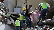 Ausnahmezustand in Ecuador: Starkes Erdbeben verwüstet Badeort Pedernales