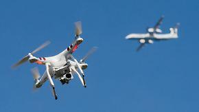 """Großbongardt zur Gefahr von Drohnen: """"Man wird um schärfere Regulierungen nicht herumkommen"""""""