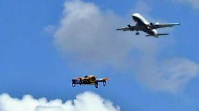 Zusammenprall über London: Passagierjet kracht beim Landeanflug in Drohne