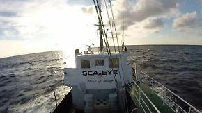 """Unternehmer hilft Flüchtlingen: """"Sea Eye"""" bricht zu Rettungseinsatz im Mittelmeer auf"""