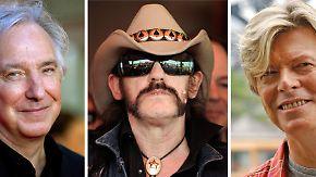 Bowie, Lemmy, Rickman und Prince: Um diese Künstler trauert die Welt 2016