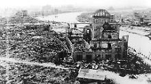 70 Jahre nach Atombombenabwurf: Bericht: Obama will Hiroshima besuchen