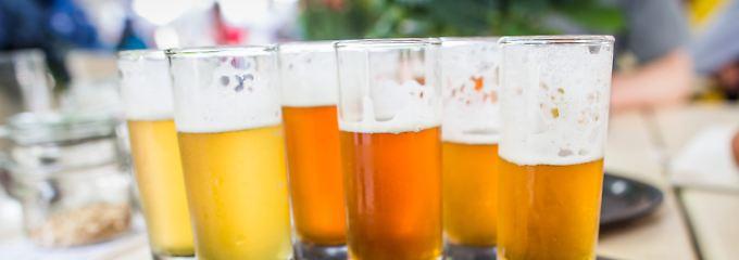 Große Vielfalt, gute Qualität: Craft-Bier überzeugt im Test.