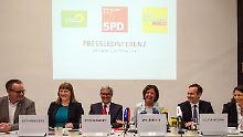 Superministerium für die FDP: Ampel in Mainz stellt Koalitionsvertrag vor