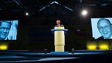 Parteitag in Berlin: FDP würdigt Genscher und Westerwelle