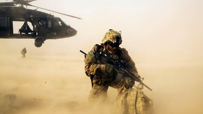 Die 250 US-Soldaten sollen nicht direkt an Kampfeinsätzen beteiligt sein, sondern vor allem beraten.