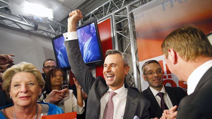 Historischer Rechtsruck in Österreich: FPÖ-Kandidat Hofer feiert Erfolg bei Präsidentschaftswahl