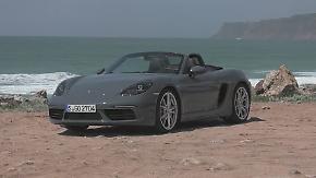 Auch als 4-Zylinder ein wahrer Sportler: Neuer Porsche Boxster will Skeptiker eines Besseren belehren