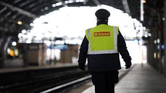 Mehr Videoüberwachung geplant: Bahnpersonal wird zunehmend Opfer von Gewalt