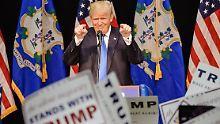 Neuengland wählt: Trump kommt der 1237 immer näher