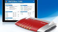 Viele neue Funktionen: Fritzbox 7390 erhält großes Update