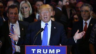 Pfefferspray-Attacke bei Wahlkampfveranstaltung: Trump räumt erneut bei US-Vorwahlen ab