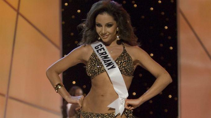 """2006 war sie """"Miss Deutschland"""" - und nahm deshalb auch an der damaligen """"Miss Universe""""-Wahl teil: Natalie Ackermann."""