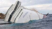 """Der Untergang der """"Costa Concordia"""": Schettino entkommt der Tragödie nicht"""