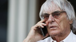 Lösegeldforderung in Millionenhöhe: Kriminelle entführen Schwiegermutter von Bernie Ecclestone