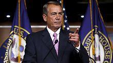 """Präsident? """"Nur über meine Leiche."""": Boehner nennt Cruz """"Hurensohn"""""""