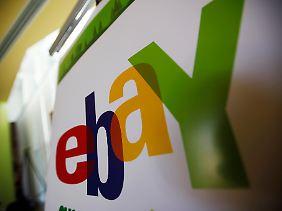 Konzern mit knallbuntem Logo: Binnen dreier Monate verdient Ebay 350 Mrd. Dollar.