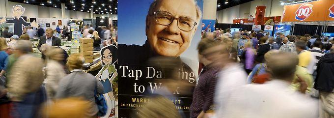 Buffetts große Show: Hauptversammlung von Berkshire Hathaway im vergangenen Jahr.