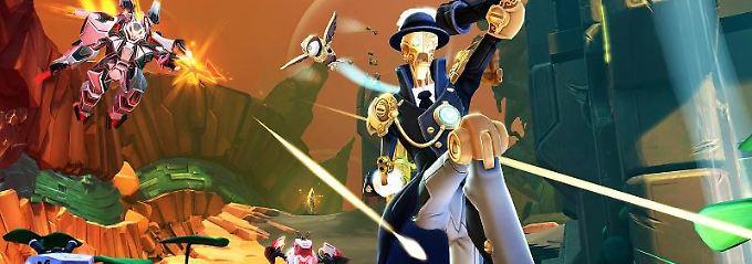 Bleihagel und Rätsel auf Titan: Neue PC-Spiele im Überblick