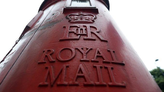 Royal Mail rechnet damit, dass Das gesamte Briefaufkommen mittelfristig um vier bis sechs Prozent schrumpft.