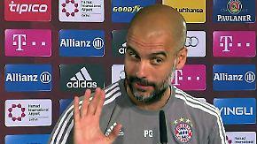 """Pressekonferenz vor Spiel Bayern vs. BMG: """"Ich bin noch nicht tot"""""""