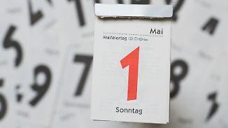 Pro und Kontra: Feiertage, die auf einen Sonntag fallen, in der Woche nachholen?