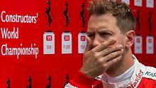 Formel-1-K.o. in Kurve zwei: Kwjat rammt Vettel aus dem Rennen