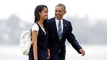 Erst Auszeit, dann Elite-Uni: Malia Obama studiert bald in Harvard