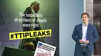 n-tv Netzreporter: So reagiert das Internet auf die Enthüllung geheimer TTIP-Papiere