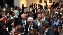 Mode-Ikone Karl Lagerfeld in Havanna