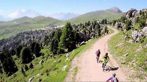 Abenteuer Outdoor: Mountainbiken im Gebirge