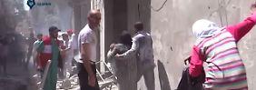 Krieg in Syrien: Waffenruhe wird auf Aleppo ausgeweitet