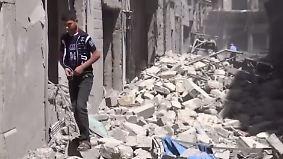 """""""Waffenruhe weiter labil"""": Frieden in Syrien ist noch weit entfernt"""