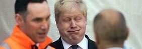 """Londons Polit-Clown will mehr: Meint """"Weltkönig"""" Johnson das ernst?"""