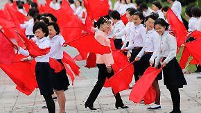 Kim Jong Un will die Blicke der Welt: Nordkorea probt für ersten Parteitag seit 36 Jahren