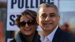 Wahlen in Großbritannien: London könnte ersten muslimischen Bürgermeister bekommen