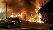 Viele Brände außer Kontrolle: Kanada kämpft weiter gegen die Flammen
