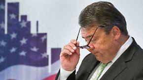 Ceta soll besser laufen: Gabriel erklärt TTIP mit den USA für gescheitert